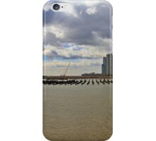 Lower Manhattan And Lower Jersey City On The Hudson Rv. iPhone Case/Skin