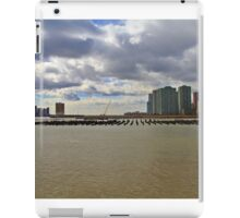 Lower Manhattan And Lower Jersey City On The Hudson Rv. iPad Case/Skin