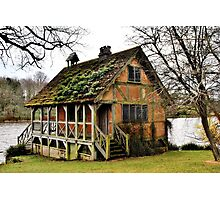.....if only ! Bowood Fishing Lodge Photographic Print