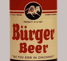 Vintage Burguer beer can. by waiting4urcall