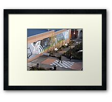 Channel Court Shopping Centre, Kingston, Tasmania Framed Print