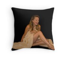 Oh' How We Laughed Throw Pillow