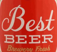 Best beer Sticker