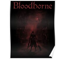 bloodborne red  Poster