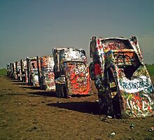 Cadillac Ranch by Zoe Harmer