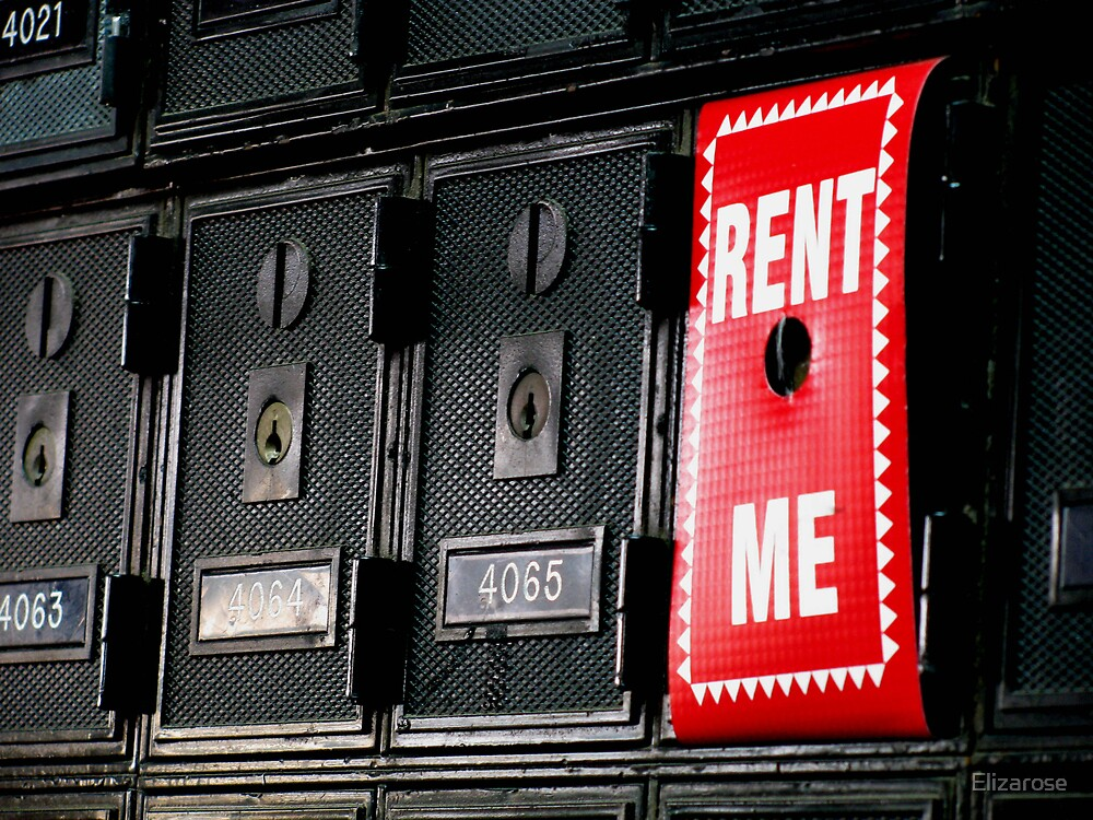 Rent Me by Elizarose