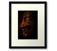 The Woodsman Framed Print
