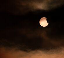Solar Eclipse 2015 Beginning by IanJTurner