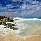 Currumbin Noon by Ken Wright