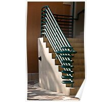 Ringed Stairway Poster