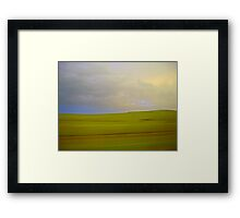 flint hills Framed Print
