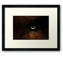 Solar Eclipse 2015 - Smile Framed Print