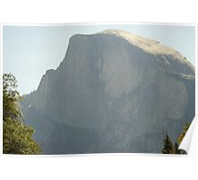 Half Dome in the afternoon sun Poster
