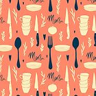 Menu pattern by Rin Rin