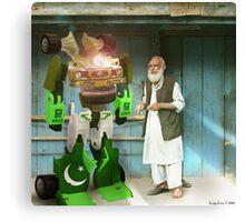 It's My PakPower Robostan Liberator Canvas Print