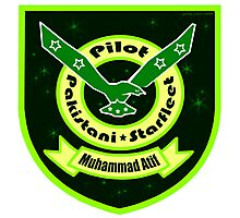 Pakistani Starfleet Elite Robostan Force Pilot Badge Photographic Print