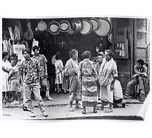 Zamboanga Scene. Poster