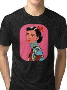 Audrey Loves Voltron Tri-blend T-Shirt