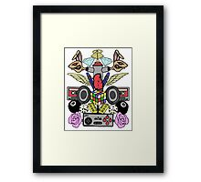 Ramoe Nostalgic Vibes (Colour Version) Framed Print