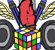 Ramoe Nostalgic Vibes (Colour Version) Sticker