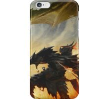The Elder Scrolls V - Draconic Armor iPhone Case/Skin