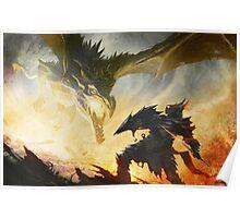 The Elder Scrolls V - Draconic Armor Poster