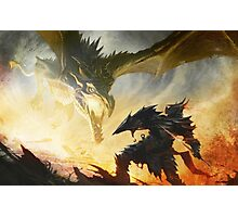 The Elder Scrolls V - Draconic Armor Photographic Print