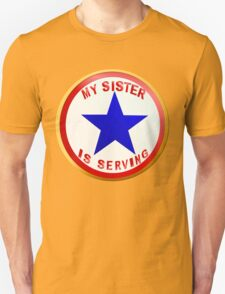 Blue Star Sister_whitebg T-Shirt