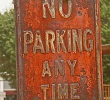 No parking. . .  by DebbyZiegler