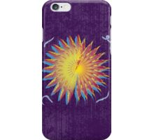 Purple Abstract Flower V2 iPhone Case/Skin
