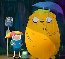 Adventure Time Finn and Jake by GetKrooomed