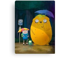 Adventure Time Finn and Jake Canvas Print