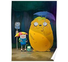 Adventure Time Finn and Jake Poster