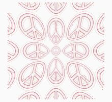 Peace Sign Symbol Abstract 6 by popculture