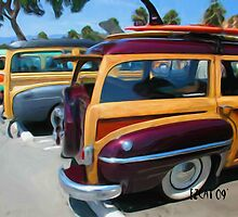 Woodie Car Show by ezcat