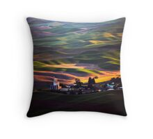 View from Steptoe Butte Throw Pillow