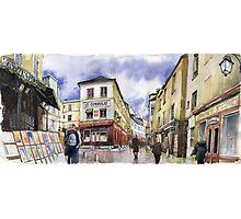 Paris Montmartre Photographic Print