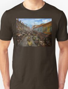 City - Baltimore MD - Traffic on light street - 1906 Unisex T-Shirt