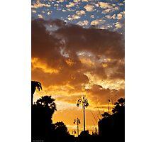 Il cielo sopra Catania Photographic Print
