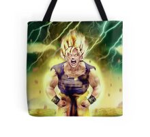 Goku goes super Saiyan Tote Bag