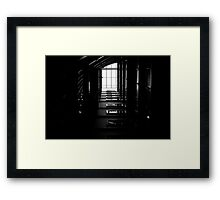 The Geometry Of Shadows Framed Print