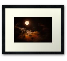 Solar Eclipse 2015 - Last Bite Framed Print