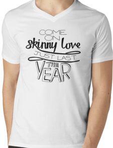 Bon Iver - Skinny Love Mens V-Neck T-Shirt