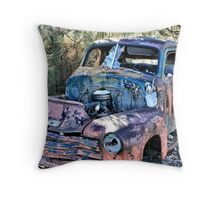 Rust Never Sleeps IV Throw Pillow
