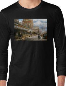 City - Kansas City farmers market - 1906 Long Sleeve T-Shirt