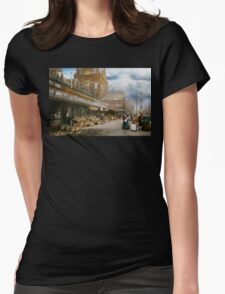 City - Kansas City farmers market - 1906 Womens Fitted T-Shirt