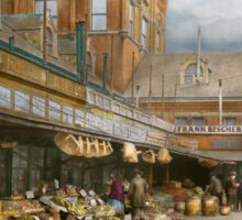 City - Kansas City farmers market - 1906 Sticker