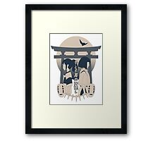 Spirited Away (blue) Framed Print
