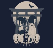 Spirited Away (blue) by Kikacch