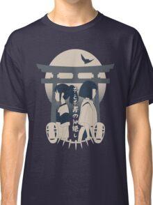 Spirited Away (blue) Classic T-Shirt